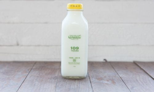 Avalon Organic Skim Milk, 1L – 12/cs