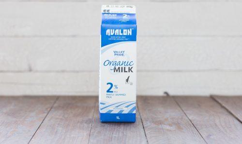 Valley Pride Organic 2% Milk, 1L – 16/cs