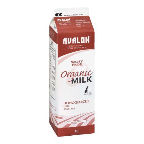 Valley Pride Organic Homo Milk, 1L – 16/cs