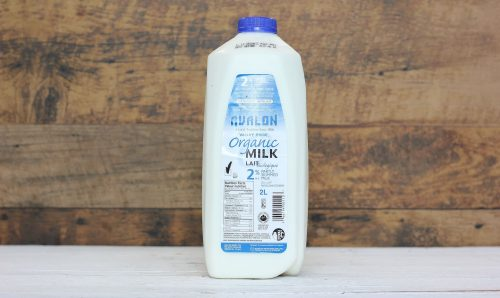 Valley Pride Organic 2% Milk, 2L – 9/cs