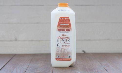 Valley Pride Organic Homo Milk, 2L – 9/cs
