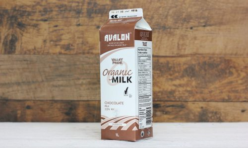 Valley Pride Organic Chocolate Milk, 1L – 16/cs