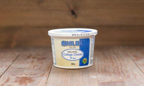 Avalon Organic Cottage Cheese 2% 500g – 6/cs