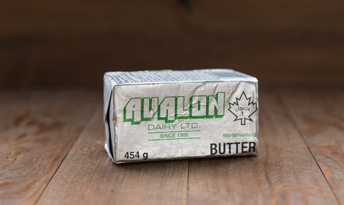 Avalon Dairy Salted Butter, 454g – 25/cs