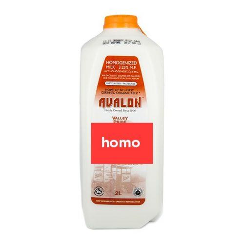 Valley Pride Homo Milk, 2L Jug – 9/cs