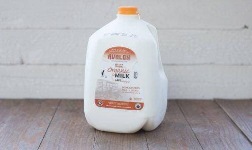 Valley Pride Organic Homo Milk, 4L – 4/cs