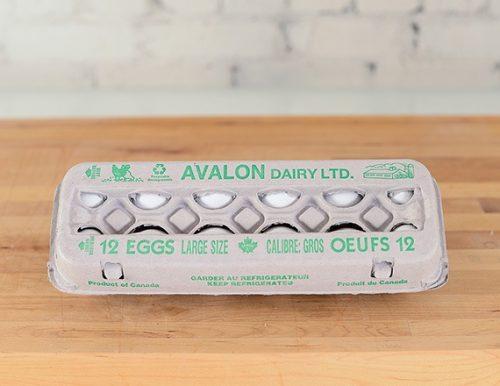 Avalon Eggs Large White, 1dz – 15dz/cs