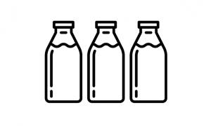 BOTTLED MILK (GLASS)