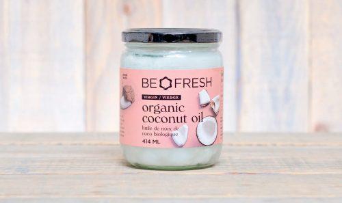 Be Fresh Organic Virgin Coconut Oil 414mL- 12/cs